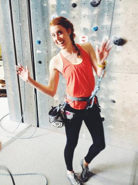 Rock Climbing Photo: Flash a 5.10 Friday @ Momentum Climbing Gym Sandy,...