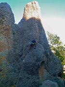 Rock Climbing Photo: x marks the spot