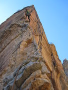 Rock Climbing Photo: J.Snyder on P2
