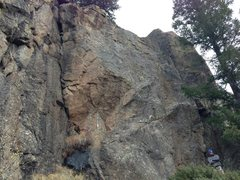 Rock Climbing Photo: Upper left tier, far left two routes. Climbed both...