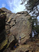 Rock Climbing Photo: Believe this is the wall with Moonwalk, Mission Co...