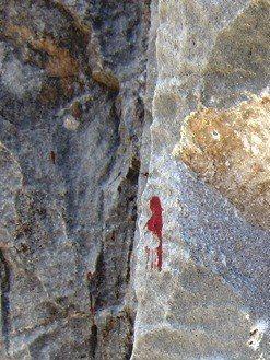 Rock Climbing Photo: Sharp limestone