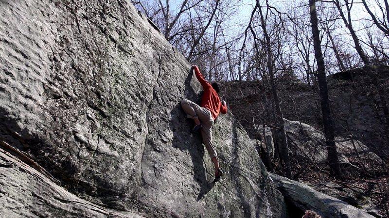 Rock Climbing Photo: Ed Heitmann