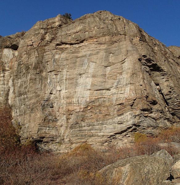 Rock Climbing Photo: Weeping Wall