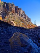 Rock Climbing Photo: Upper Wall colors, October 2013. The late-summer f...