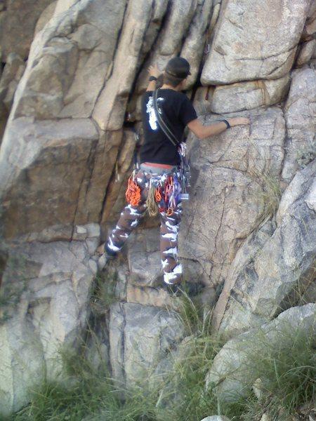 Alex practicing