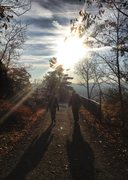 Rock Climbing Photo: Entering the Trapps in October