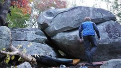 Rock Climbing Photo: The Spoon-sit is a V5, not a V7. Spoon stand start...