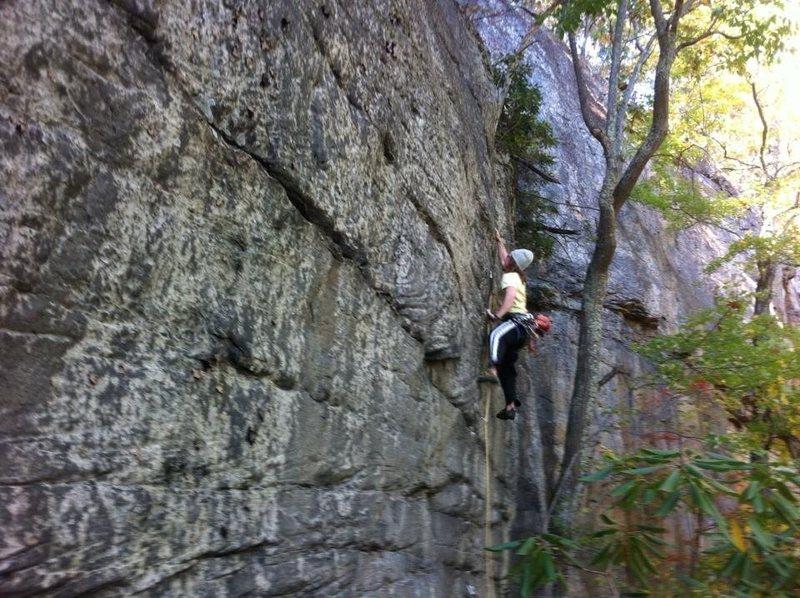 Rock Climbing Photo: Josh J on Blue Angel 10/20/13