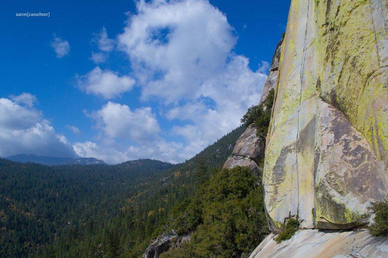 Rock Climbing Photo: The Emperor, Voodoo Dome, The Needles (Photo: Aaro...