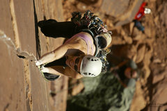 Rock Climbing Photo: Megan easily crushing 9 Lives and loving every min...