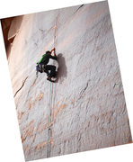 Rock Climbing Photo: Yours truly entering the crux.  I sent!