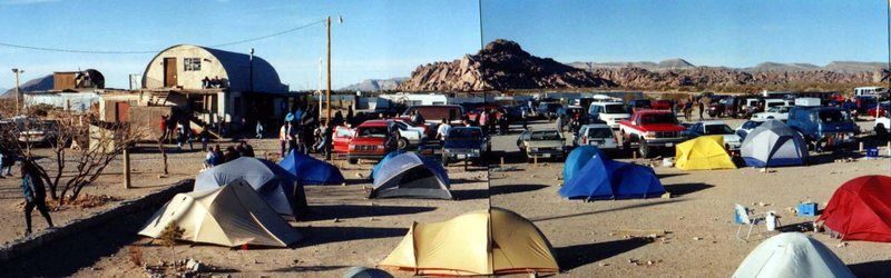 Rock Climbing Photo: Pete's Hueco Tanks 1997