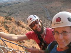 Rock Climbing Photo: easy stuff in Snow Canyon