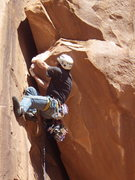 Rock Climbing Photo: workin it