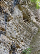 Rock Climbing Photo: Angry Birds 13c.  Starts right of the black rock a...