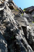 Rock Climbing Photo: P1 of Adagio  © 2013 Obsessive climbing disorder ...