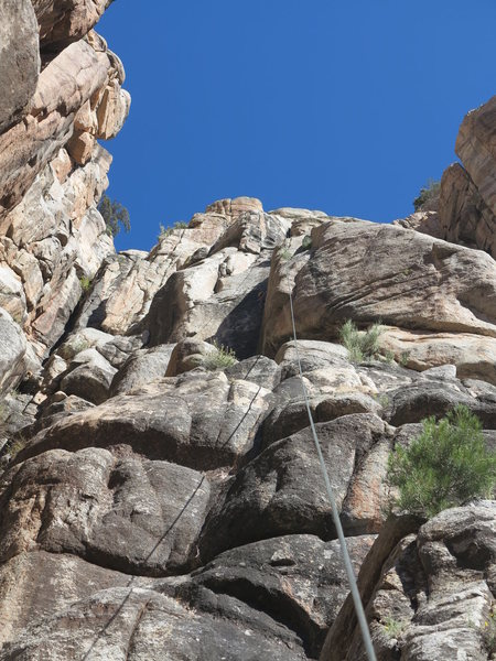 Rock Climbing Photo: You can just see Nick in the corner.