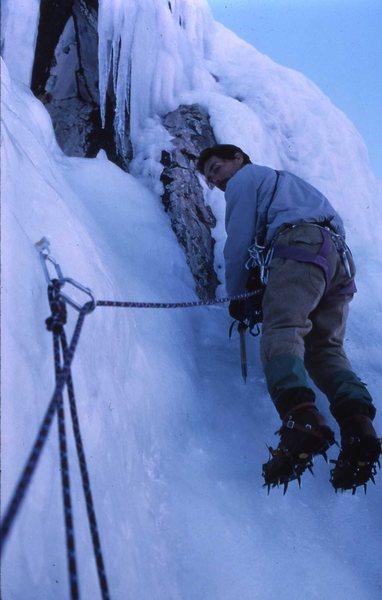 Rock Climbing Photo: Dat's da way Uh huh, uh huh....