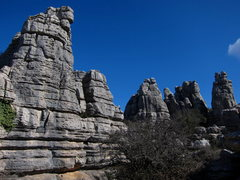 Rock Climbing Photo: A few of the many towers and spires of El Torcal d...