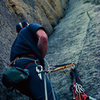 Belay on Soler, Nice rack from 1980's