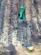 Rock Climbing Photo: Gumby Move