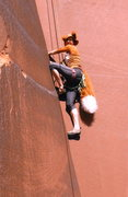 Rock Climbing Photo: Holloween 2013! A lil' Foxy from Jackson getting f...