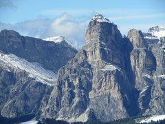 Rock Climbing Photo: Sass Songher near Covara, the East portal to the G...
