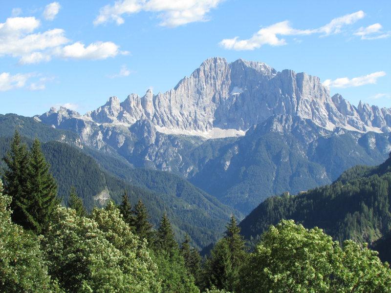 Monte Civetta, Hauptkamm.