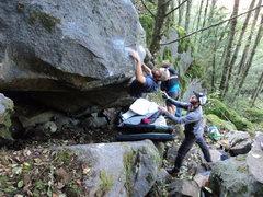 Rock Climbing Photo: Brett