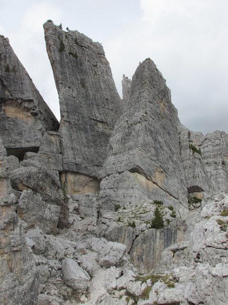 Torre Quarta, Cinque Torri.