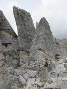 Rock Climbing Photo: Torre Quarta, Cinque Torri.