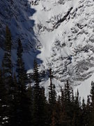 Rock Climbing Photo: NE Face route on Notchtop, 11/2/13.
