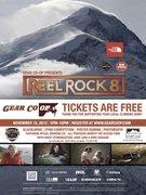 Rock Climbing Photo: Reel Rock 8 @ Gear Co-op