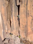 Rock Climbing Photo: Intruding Hagen. December 2012.