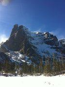 Rock Climbing Photo: Notchtop ice.