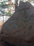 Rock Climbing Photo: Affirmative Action, V4+.