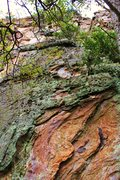 Rock Climbing Photo: The line leading directly to the dihedral is High ...