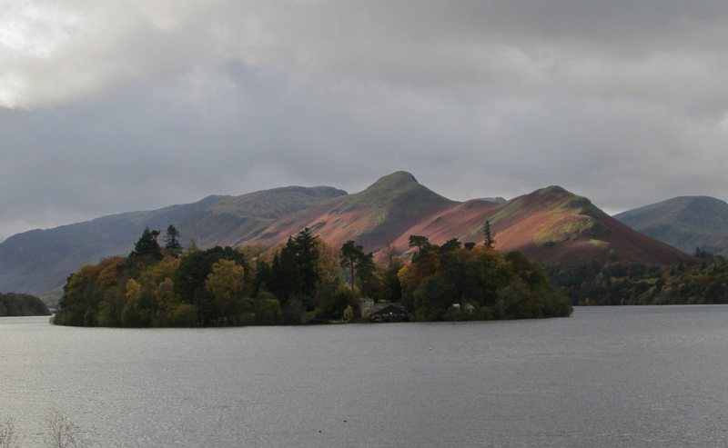 Fall November 2013. Derwentwater in the Borrowdale Valley