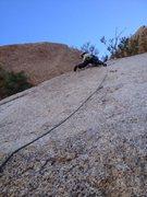 Rock Climbing Photo: Crux of the original Sinbad