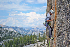 Rock Climbing Photo: Jeff Gicklhorn sending Orange Plasma, Tuolumne Mea...