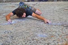 Rock Climbing Photo: Jeff Gicklhorn climbing Notorious B.E.G.