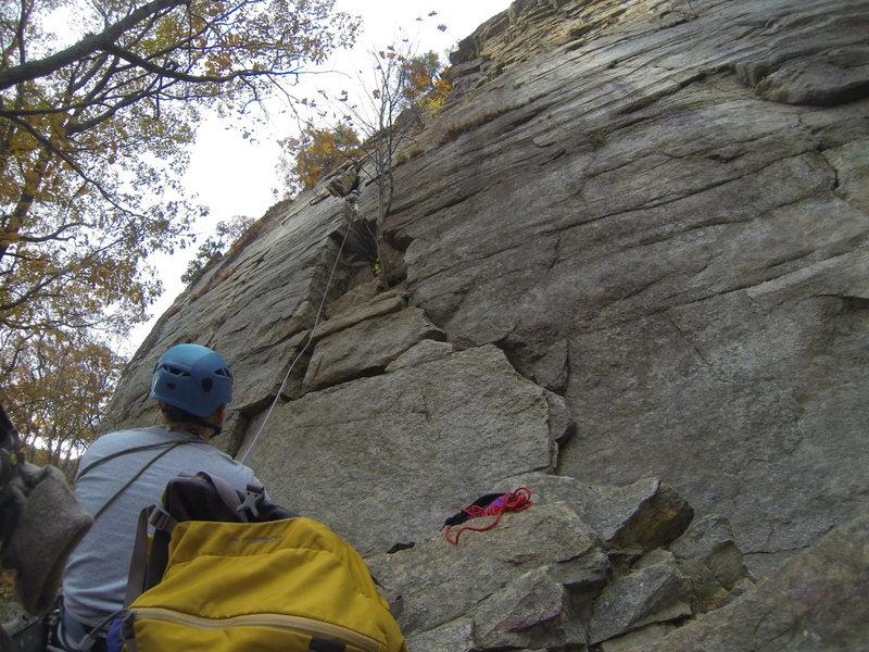 Rock Climbing Photo: easy overhang