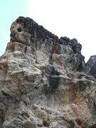 Rock Climbing Photo: some sweet climbing