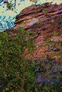Rock Climbing Photo: Pinky Pillar Wall  When In Doubt, Pinkies Out (5.8...
