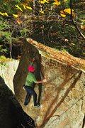 Rock Climbing Photo: Christian Prellwitz enjoying the slab moves on 'Lo...