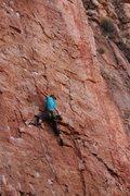 Rock Climbing Photo: Best route at Shelf.