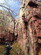 Rock Climbing Photo: Season's Opener