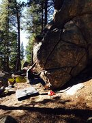 Rock Climbing Photo: Starting position.