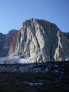 Rock Climbing Photo: The East Buttress of Torre De Mierda.